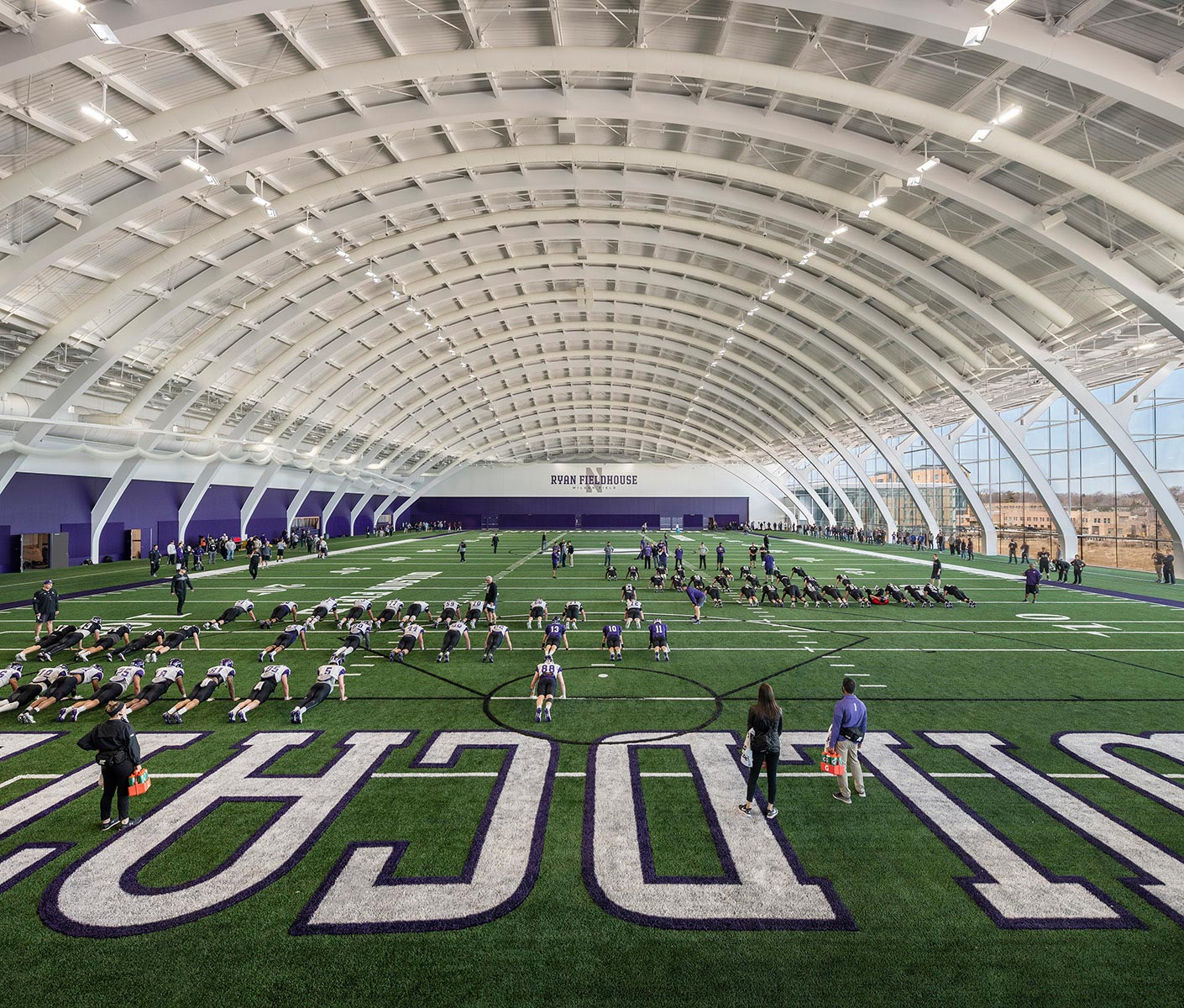 Ryan Walter Fieldhouse and Athletic Center at Northwestern University
