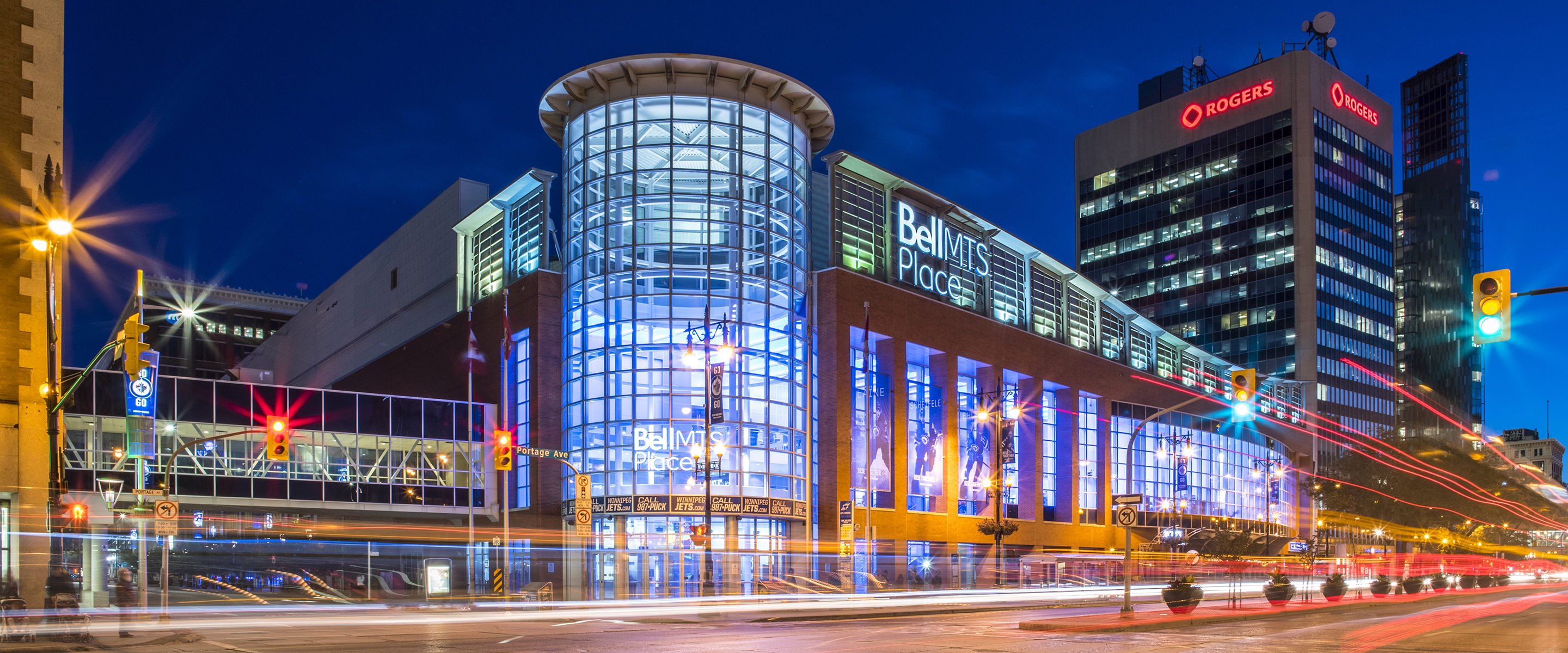 exterior of bell mts place