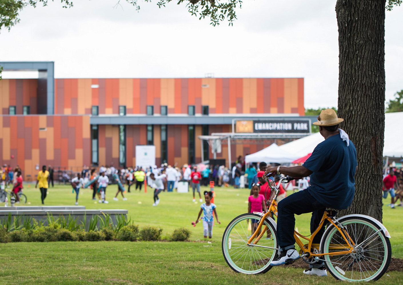 Community Event at Historic Emancipation Park