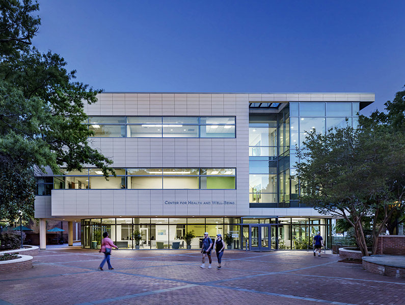 University of South Carolina; Center for Health and Wellbeing; Columbia SC