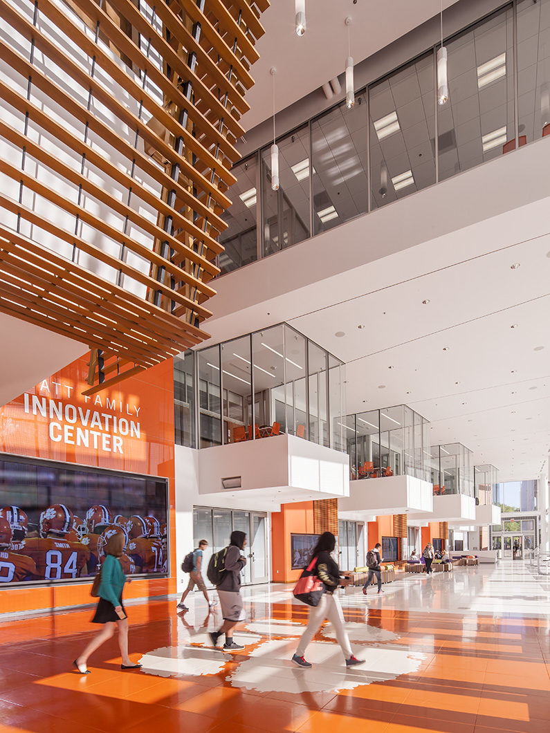 Clemson University - Watt Family Innovation Center